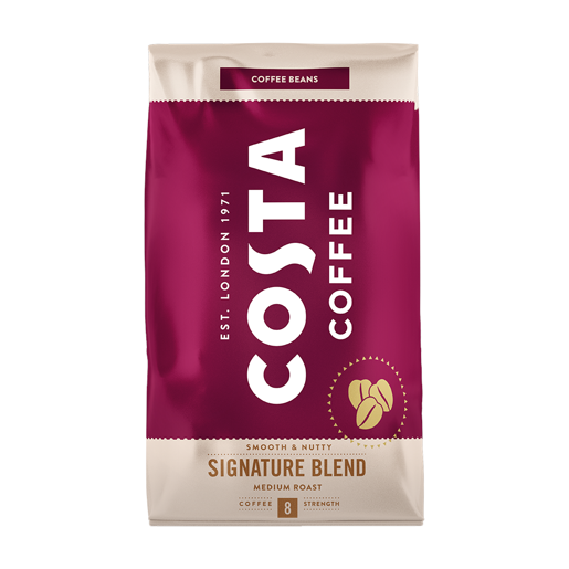 Costa Coffee Signature Blend Medium 1 kg - kawa ziarnista