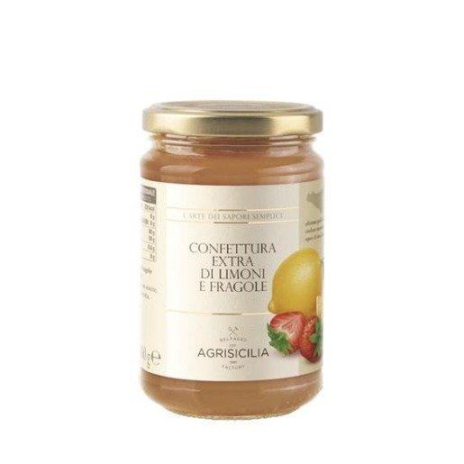 Agrisicilia -  Konfitura z cytryny i truskawki 360 g