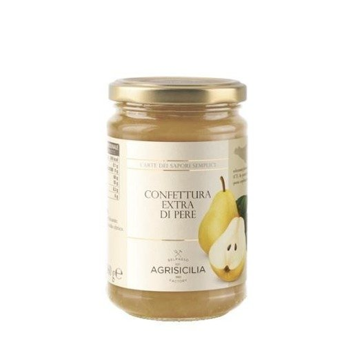 Agrisicilia -  Konfitura z gruszki 360 g