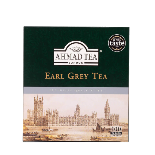 Ahmad Earl Grey Tea 100 saszetek herbaty