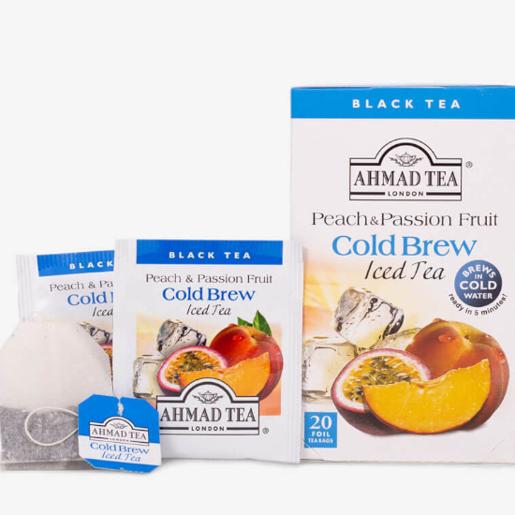Ahmad Peach & Passion Fruit Iced Tea 20 saszetek