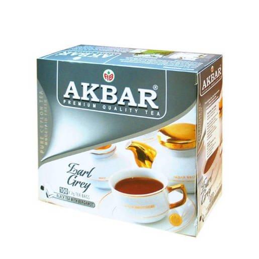 Akbar Earl Grey 100 saszetek
