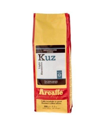 Arcaffe Kuz 500 g kawa ziarnista bezkofeinowa