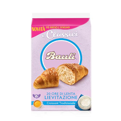 Bauli Croissant 240 g tradycyjne rogalik 6 sztuk