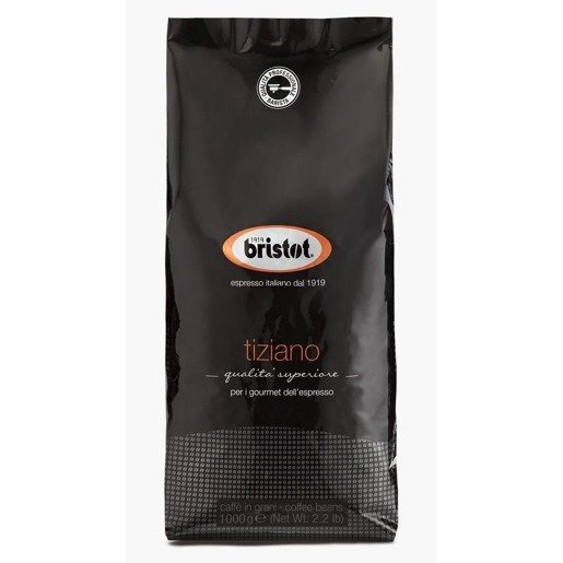 Bristot Tiziano 1 kg kawa ziarnista x 6