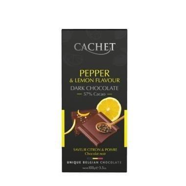 Cachet Pepper & Lemon czekolada deserowa 100g