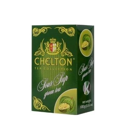 Chelton  Herbata Zielona z Sour Sup 100g kartonik