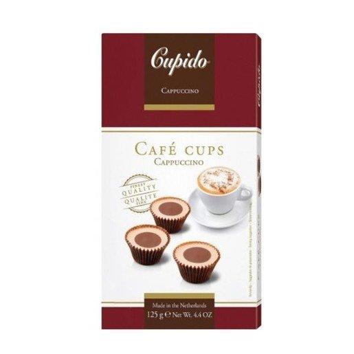 Cupido Cafe Cups - czekoladki cappuccino 125 g
