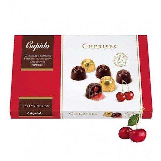 Cupido Cherises czekoladki z wiśniami 132g