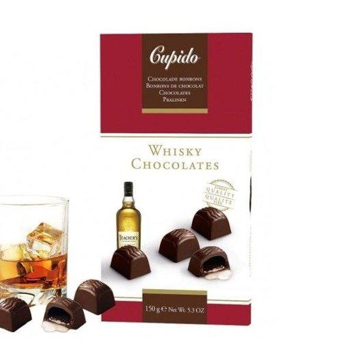 Cupido Whisky Chocolates czekoladki z whisky 150g