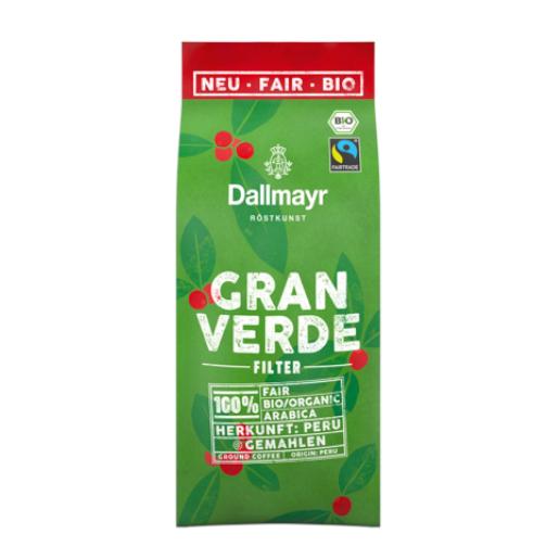 Dallmayr Gran Verde BIO kawa mielona 220 g