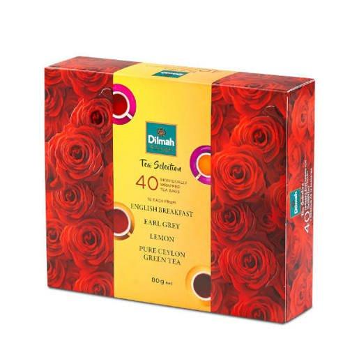 Dilmah Herbata w saszetkach 40 sztuk Róże