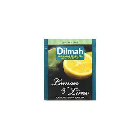 Dilmah czarna herbata Cytryna i limonka 25 saszetek