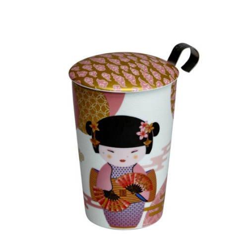 "Eigenart ""Little Geisha"" rose - kubek z zaparzaczem 350 ml"