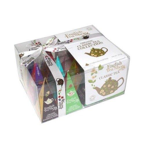 English Tea Shop Classic Tea Collection - 12 piramidek z herbatą