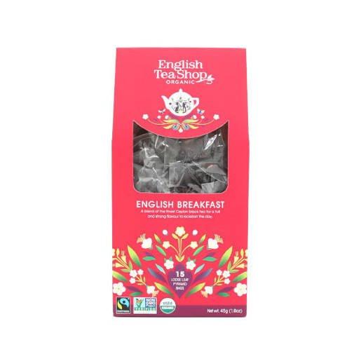 English Tea Shop English Breakfast - 16 piramidek
