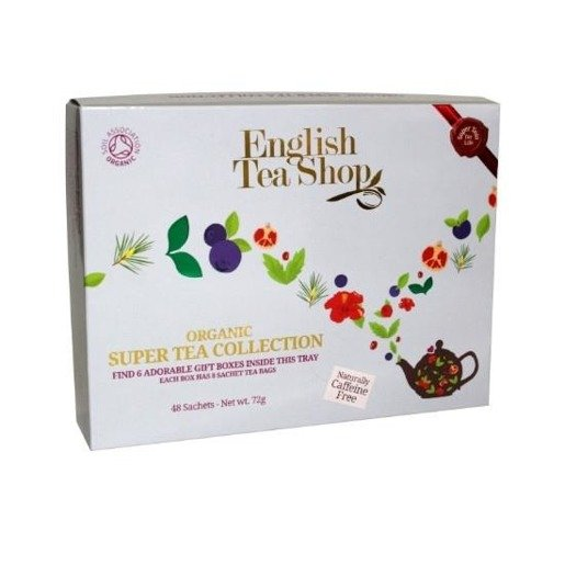English Tea Shop Organic Super Tea Gift - 48 saszetek