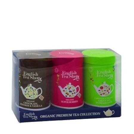 English Tea Shop Premium Collection - zestaw herbaty sypanych 3 x 25 g