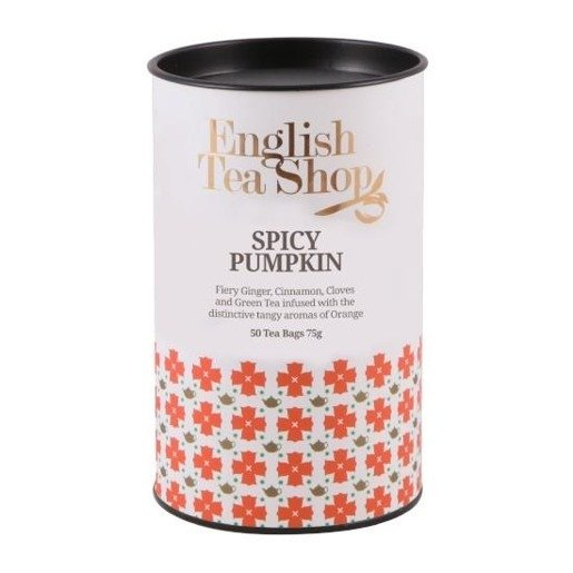 English Tea Shop Spicy Pumpkin - 50 torebek