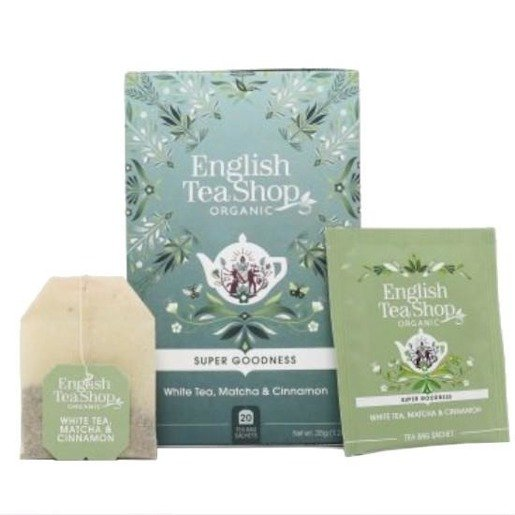 English Tea Shop White Tea, Matcha & Cinnamon - 20 saszetek