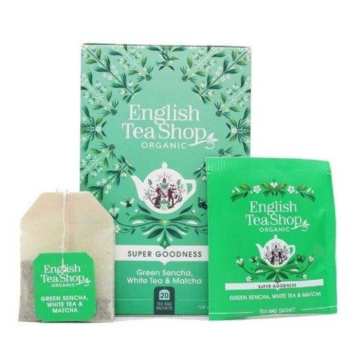 Green Sencha, White Tea & Matcha - 20 saszetek