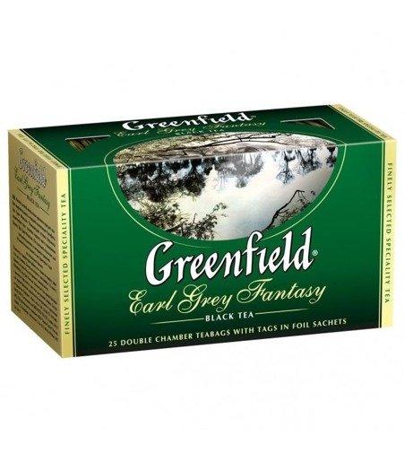 Greenfield Earl Grey Fantasy 50g czarna herbata w saszetkach