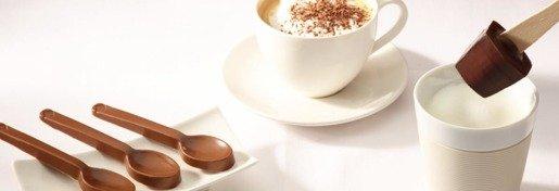 Hamlet Choc&Latte - łyżeczki z belgijskiej czekolady 10 sztuk