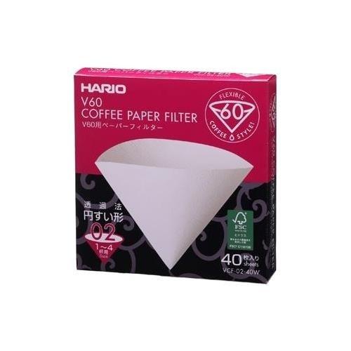 Hario filtry V60-02 40 sztuk