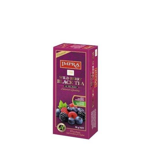 Impra - Wildberry Black Tea 25x2g herbata ekspresowa