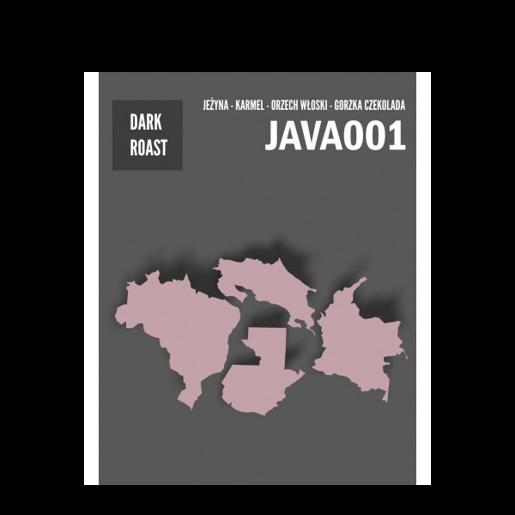 Java Coffee - 001 kawa ziarnista 250g
