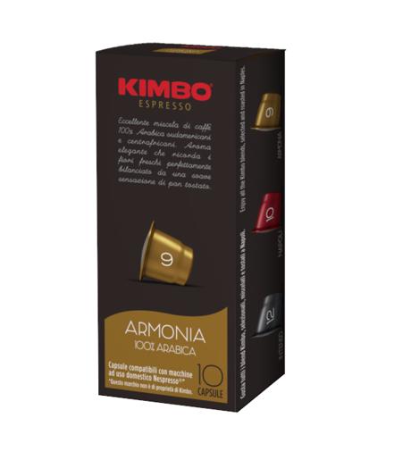 Kimbo 9 Armonia 100% Arabica 10 kapsułek Nespresso