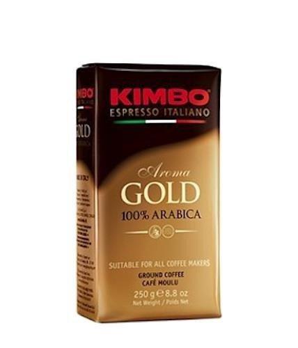 Kimbo Aroma Gold 250g włoska kawa mielona x 20
