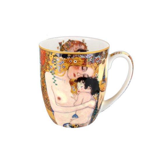 Kubek porcelanowy Camio - Gustav Klimt 400 ml