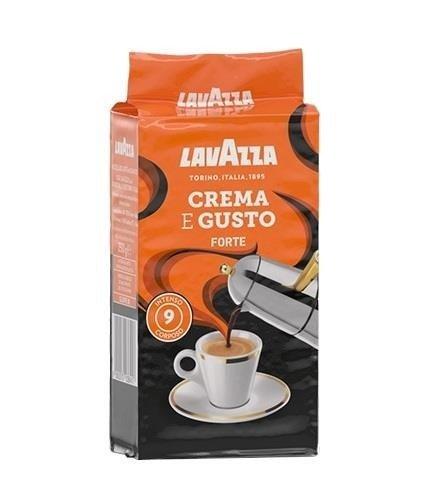 Lavazza Crema e Gusto Forte 250g kawa mielona x 6
