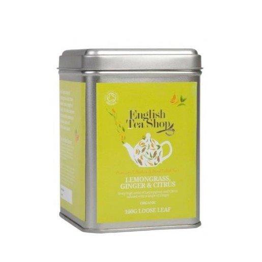 Lemongrass Ginger Citrus Fruits herbata sypana 100g