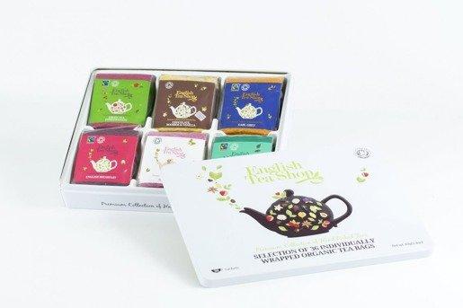 Luxury Tea Gift  - zestaw 36 saszetek z herbatą