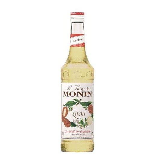Monin Lychee 700 ml - syrop o smaku liczi