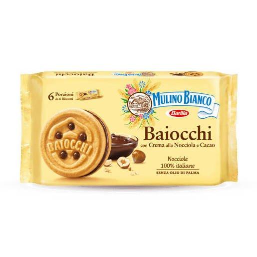 Mulino Bianco Baiocchi Snack - włoskie ciastka 336 g
