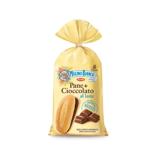 Mulino Bianco Pane + Cioccolato al latte - bułeczki z kremem czekoladowym