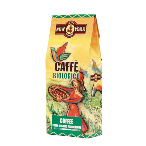 New York Caffe Biologico 250g  - kawa mielona