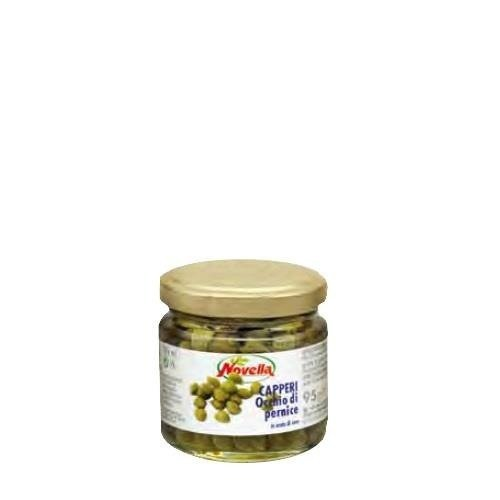 Novella Capperi Pernice - 106 ml kapary