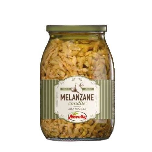 Novella Melanzane Condite - 1062 ml bakłażan krojony