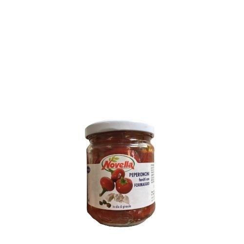 Novella Peperoncini Con Ricotta - 212 ml papryczki z serkiem