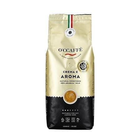 Occaffe Crema e Aroma Arabica 1kg kawa ziarnista