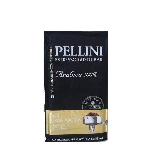 Pellini n'3 Gran Aroma 100% Arabica kawa mielona 250 g