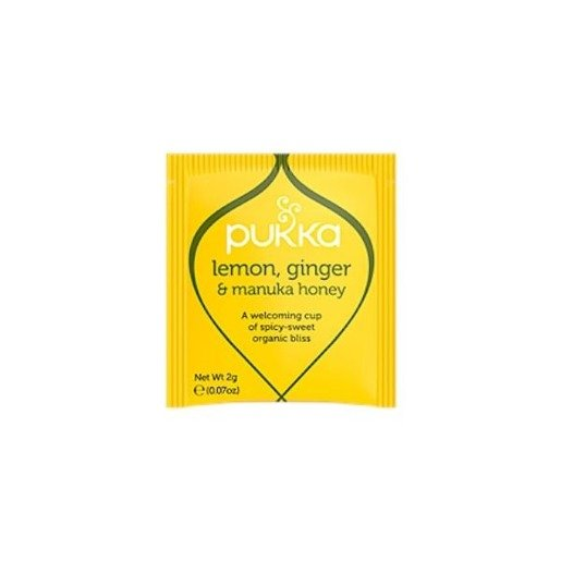 Pukka Lemon, Ginger Manuka Honey BIO - 20 saszetek