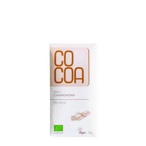 Raw Cocoa - czekolada biała cynamonowa BIO 50g