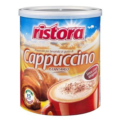 Ristora włoskie Cappuccino instant puszka 250 g