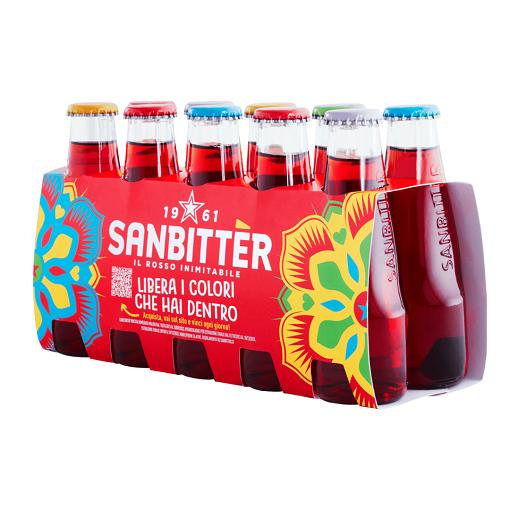 S. Pellegrino Sanbitter L'inimitabile Rosso 10x100ml