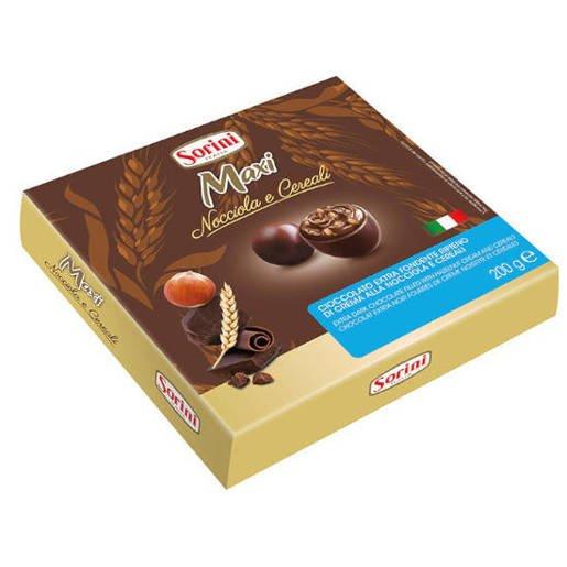 Sorini Maxi Nocciola e Cereali 200g - w ciemnej czekoladzie